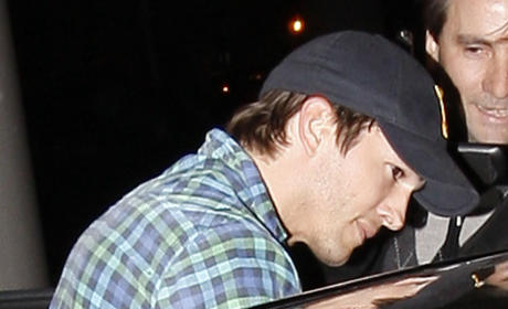 Ashton Kutcher in Los Angeles