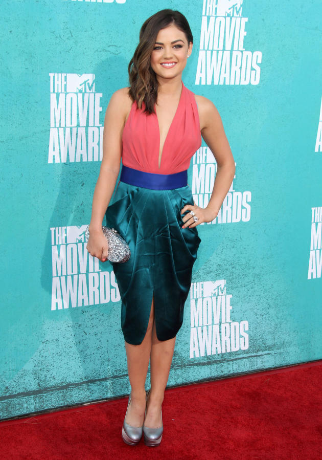 Lucy Hale at MTV Movie Awards