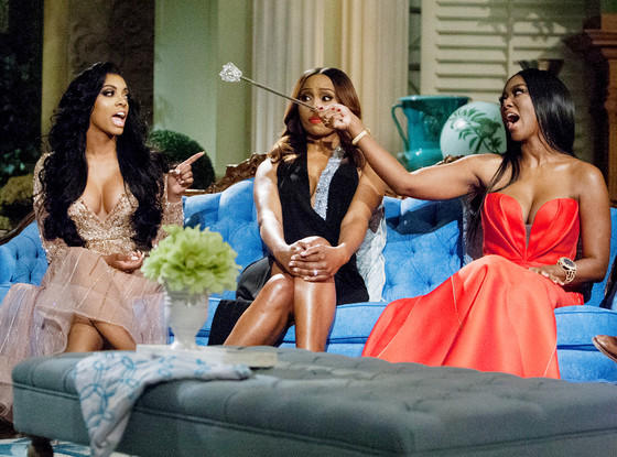 Real Housewives Reunion Tension