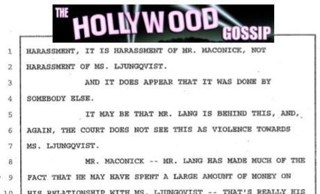 Ida Ljungqvist Court Document