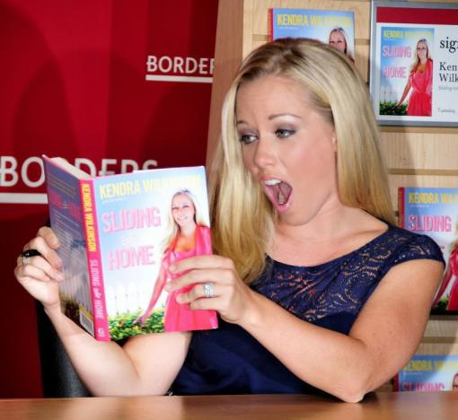 Kendra Wilkinson Book Signing
