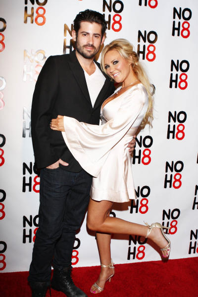 Bridget Marquardt and Nicholas Carpenter