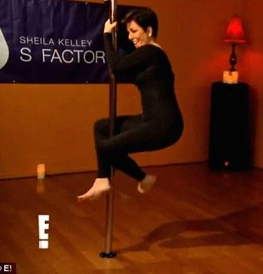 Kris Jenner Stripping Pic