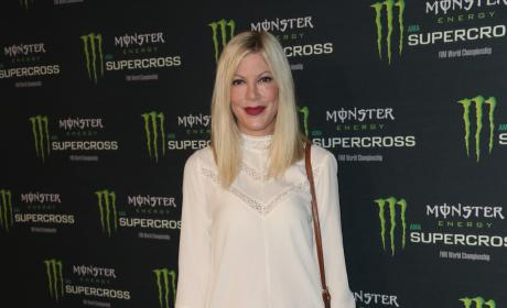 Tori Spelling Released After Week in Hospital: Is It More Serious Than She's Letting On?