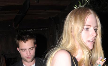 Imogen Ker and Robert Pattinson