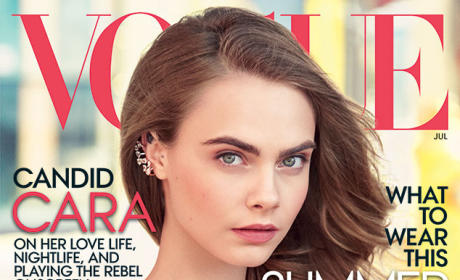 Cara Delevingne Vogue Cover