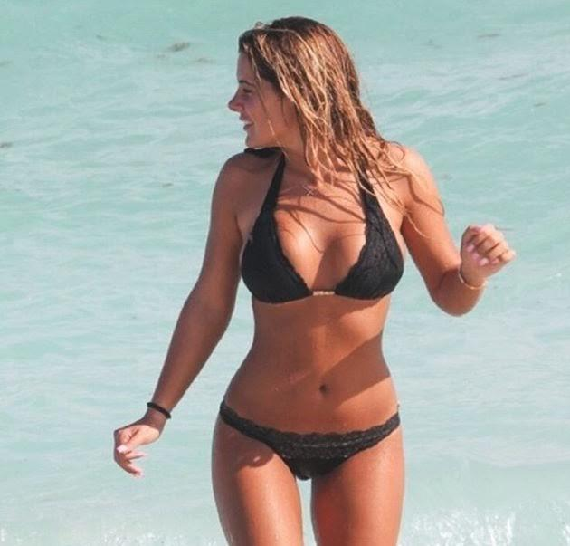 Brielle zolciak in a bikini on instagram