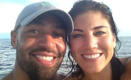 Hope Solo: Jerramy Stevens NEVER Beat Me!