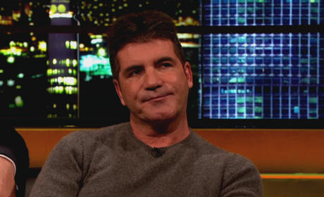 Intruder Alert: Simon Cowell Staves Off Crazed Fan