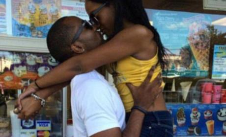 Nick Gordon Kisses Bobbi Kristina Brown