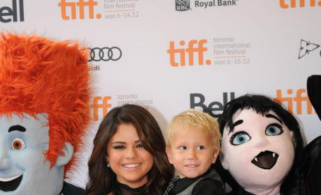 Selena Gomez Brings Little Biebers to Toronto Film Premiere