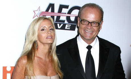 Kelsey Grammer Alleges Camille Smells Like Beef Jerky, Then Alleges Email Was Hacked