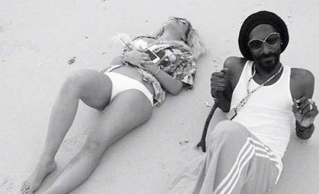Rita Ora and Snoop Dogg/Lion: Random Instagram Pic of the Week!