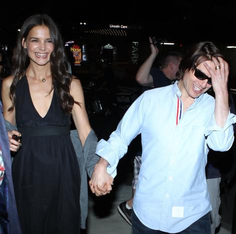 Tom Cruise and Katie Holmes Photo
