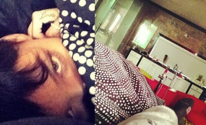 Rihanna and Chris Brown: New Year's in Bed!