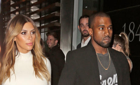 Kim Kardashian on Kanye West Engagement: I'm So Happy!