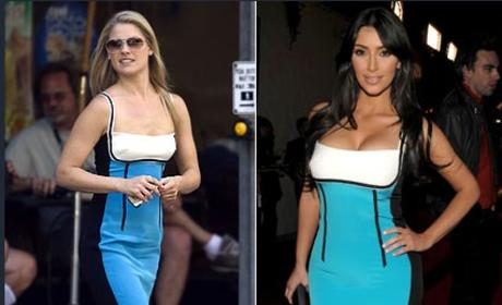 Fashion Face-Off: Ali Larter vs. Kim Kardashian