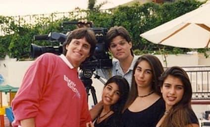 Kim Kardashian Throws It Way Back, Posts Old Family Photos