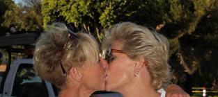 Meredith Baxter and Nancy Locke: Married!