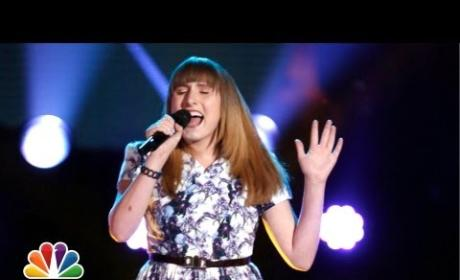 Caroline Pennell - Anything Could Happen (The Voice Audition)