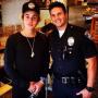 Justin Bieber and a Cop