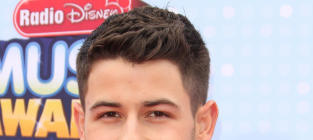 Nick Jonas Smiles