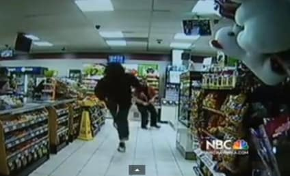 7-Eleven Clerks Disarm Robber In Amazing Viral Video!