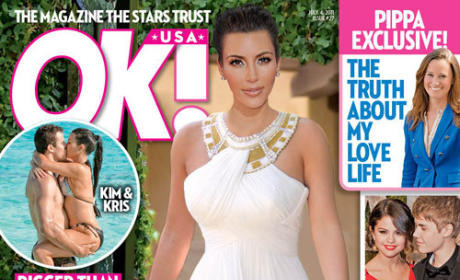 Kim Kardashian Wedding Cover