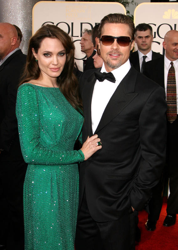 Brad and Angelina Pic