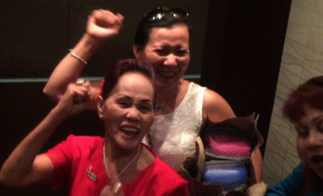 Manny Pacquiao's Aunt Lilia