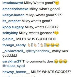 Miley Cyrus: What's Good?