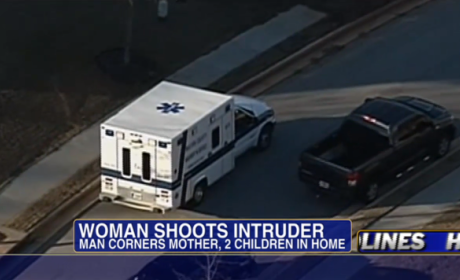 Mom Shoots Intruder 5 Times, Saves Children