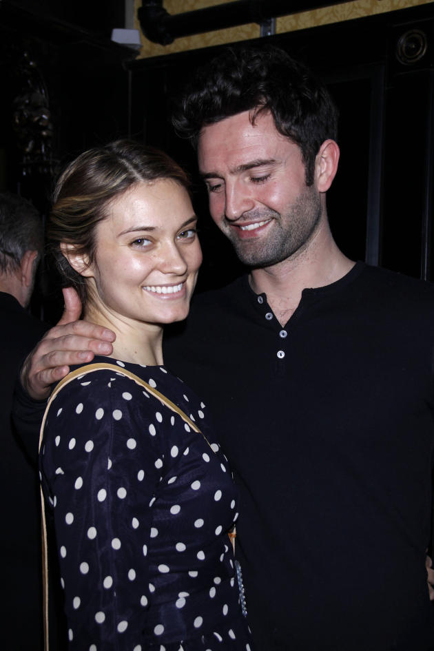 Spencer Grammer and James Hesketh Photo