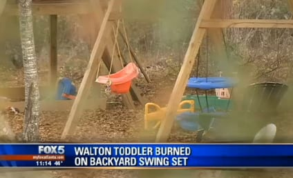 Girl Pours Gasoline on Slide, 2-Year-Old Sister Catches on Fire