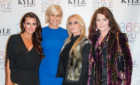 Kyle Richards, Yolanda Foster, Kim Richards and Lisa Vanderpump Attend Nicky Hilton's Book Signing