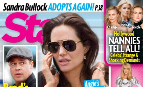 Brad Pitt: Threatening to Leave Angelina Jolie Because of Eating Disorder, Tabloid Claims