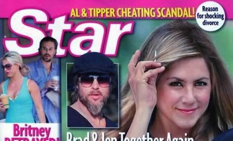 Brad Pitt and Jennifer Aniston: Sneaking Around Behind Angelina Jolie's Back!?