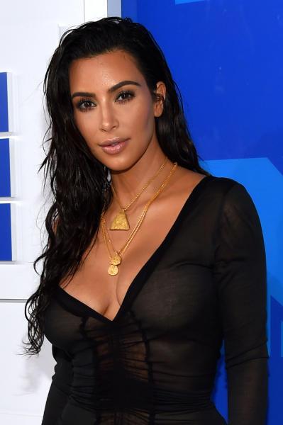 Kim Kardashian: Here's My Cleavage!