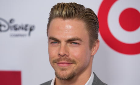 Derek Hough with Facial Hair