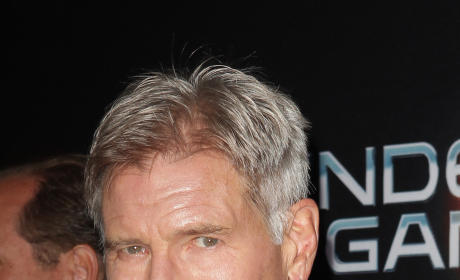 Harrison Ford at Ender's Game Premiere