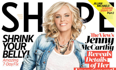 Jenny McCarthy Looks HOT in Shape, Describes Donnie Wahlberg Proposal
