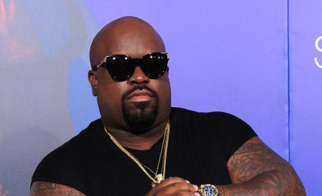 Cee Lo Green on the Red Carpet