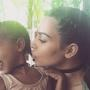 Kim Kardashian and Nori Photo