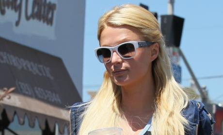 Paris Hilton, Pretend BFF Spend Christmas in Colorado