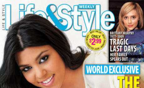 Kourtney Kardashian, Kute Kid Kover Magazine