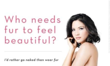 Olivia Munn: Nude For PETA!