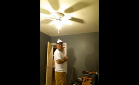 Man Learns He's Gonna Be a Grandfather, Does Hilarious Dance of Joy