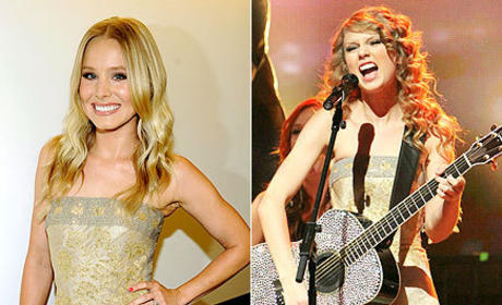 Fashion Face-Off: Kristen Bell vs. Taylor Swift