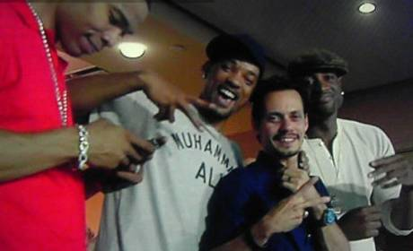 Spotted Together: Will Smith and Marc Anthony!