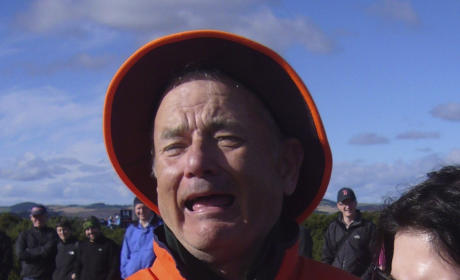 Bill Murray, Crying Baby Go Viral Thanks to Classic Photo